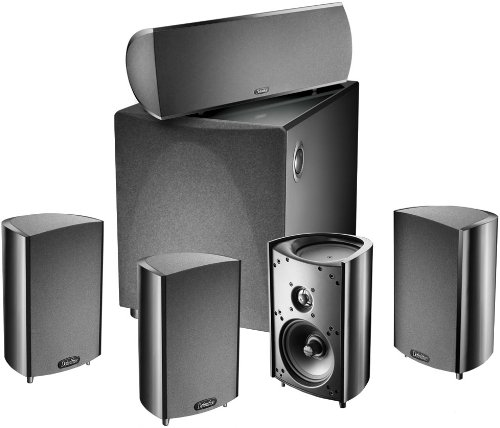 Definitive Technology ProCinema 600 5.1 Home Theater Speaker System – Black (Certified Refurbished)