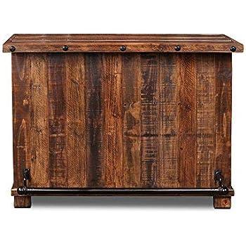 Amazon Com Imax 88707 Vineyard Wine Barrel Storage Table