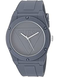 Quartz Rubber and Silicone Casual Watch, Color:Gray (Model: U0979L7)