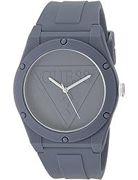 Guess - Reloj deportivo de silicona para mujer, gris, Una talla
