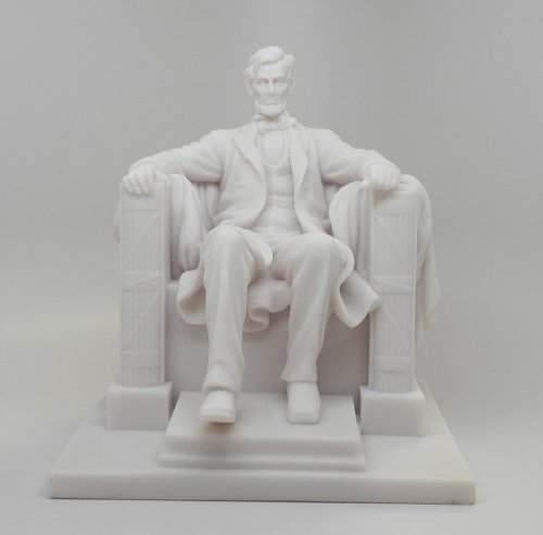 8.25 Inch Abraham Lincoln National Memorial Replica Figurine