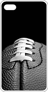 Football First & Ten 50 Yard Line Clear Rubber Case for Apple iPhone 4 or iPhone 4s