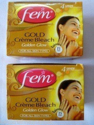 2-fem-herbal-gold-cream-bleach-wt-real-gold-golden-glow-natural-fairness-26g-x-2-by-fem