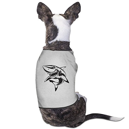 Mako Shark Tracker New Jersey's Biggest Shark Pet Puppy Jumpsuits Summer Clothes Costume Medium - Killer Whale Costume For Dogs