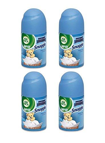 Air Wick Freshmatic Refills Automatic Air Freshener, Snuggle Fresh Linen, 4X6.17oz