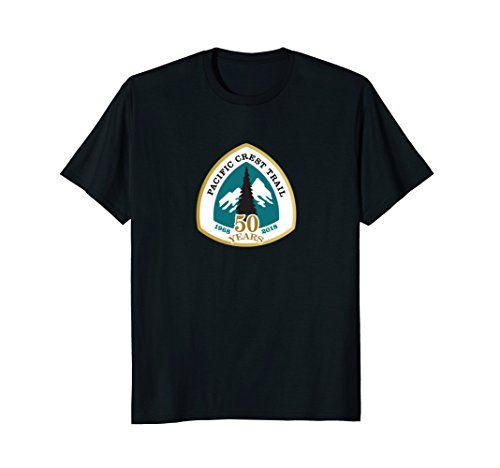 (Pacific Crest Trail 50 Years 1968 - 2018 Shirt Tshirt Gift)