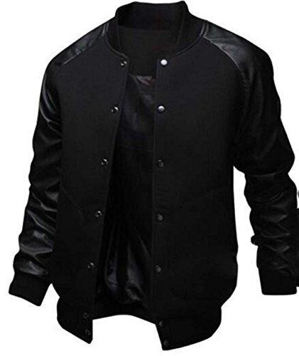 Leather Raglan Sleeves - 1