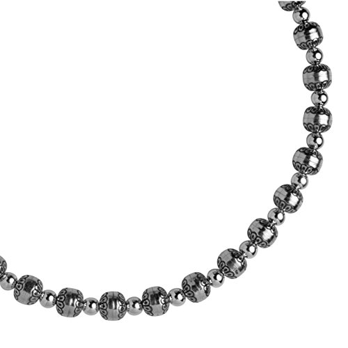 Carolyn Pollack Sterling Silver Native Pearl Bead Necklace by Carolyn Pollack