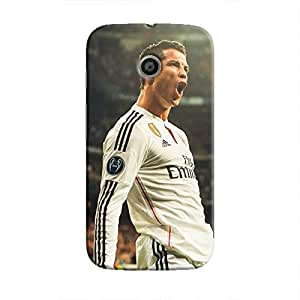 Cover It Up - Cristiano Ronaldo Yeah! Moto E Hard Case
