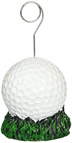 Golf Ball Photo/Balloon Holder Party Accessory (1 (Picture Novelty)