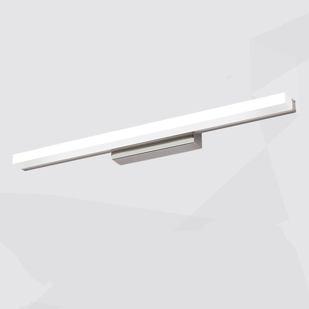 GXIAO Luci da Specchio PJ120 Lampada LED , 9W-20W luce bianca / luce calda luci bagno, driver EMC, risparmio energetico 40 cm, 50 cm, 60 cm, 70 cm, 90 cm Sicurezza Risparmio Energetico ( Colore : Luce bianca , dimensioni : 40 cm )