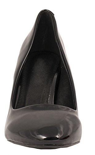 Elara - Pantuflas de caña alta Mujer negro