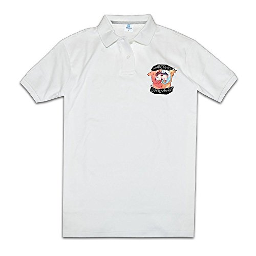 Personalized Mens Cool Customized Dan And Phil BBC Radio 1 Internet News Polos Shirts Short Sleeve Polo Shirts