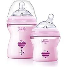 Chicco NaturalFit Colorific Bottle Slow Flow, Pink