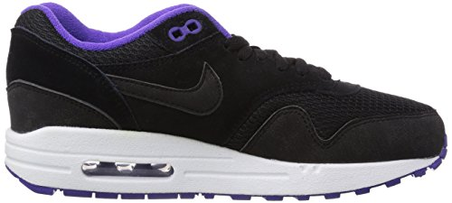 purchase free shipping best NIKE Women Sneakers WMNS Air Max 1 Essential Black-Purple-White 599820-006 outlet countdown package 37kSrQG