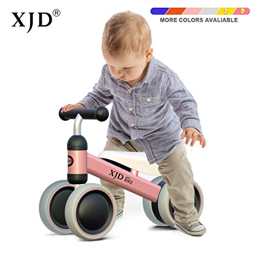 Popular Toys For 1 Year Olds (XJD Baby Balance Bikes Bicycle Baby Toys for 1 Year Old Boy Girl 10 Month -24 Months Toddler Bike Infant No Pedal 4 Wheels First Bike or Birthday Gift Children)
