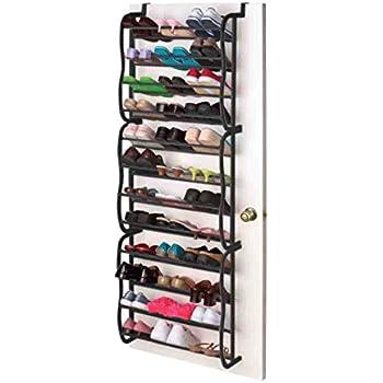 Amazon Com Sunbeam Shoe Rack For 36 Pair Over The Door