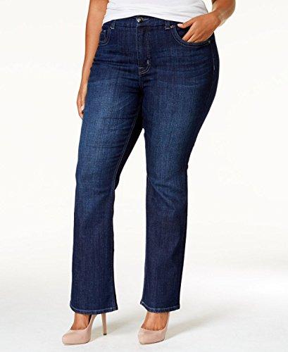 Melissa McCarthy Seven7 Trendy Plus Size Gordon Wash Slim...