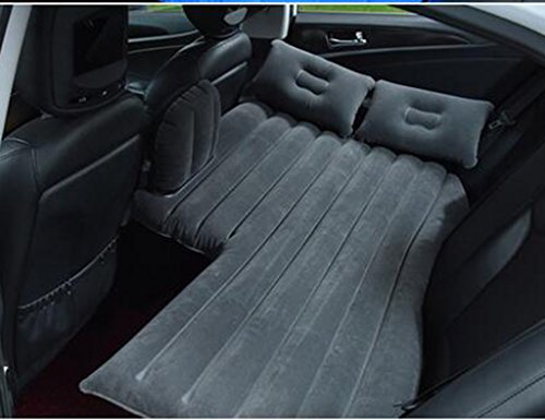 - SUV Car Sex Air Bed Inflatable Mattress Black Back Seat Cushion For Travel Camping Outdoor With Pumps And Pillows
