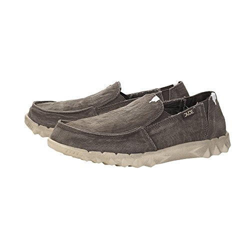 Dude Shoes Hey Men's Farty Washed Mud Slip On/Mule UK11/EU45