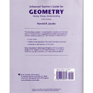 Enhanced Teacher's Guide for Geometry: Seeing, Doing, Understanding, 3rd Edition