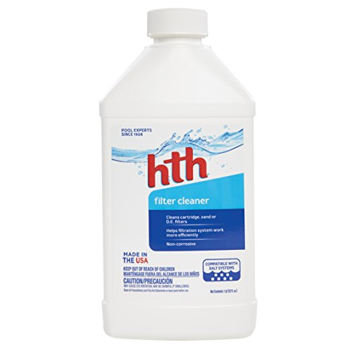 HTH Pool Cleaner Filter Cleaner (Cleaning Spa Filters)