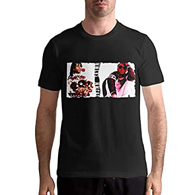 Rae Sremmurd T Shirts Men's Tops Short Sleeved Round Neck Cotton Shirt