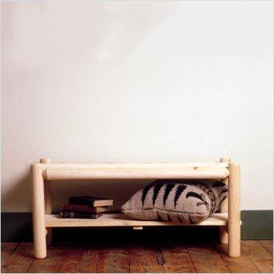 (Furniture Cumberland Bay Bed Bench - Old Adirondack 78)