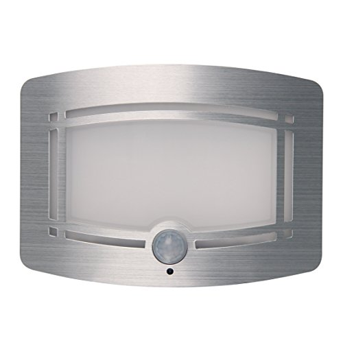 Led Wall Sconce Battery Powered Stone : Signstek 10 LED Wireless Light-operated Motion Sensor Activated Battery Operated Sconce Wall ...