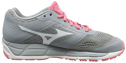 Synchro de Pink Gris Mizuno Femme White Quarry MX Running Chaussures Compétition Strawberry tTn11xdwPq