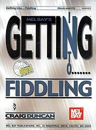 Mel Bay Getting Into Fiddling Book & CD