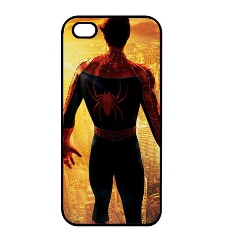 Coque,Custom Girly US Hero Spiderman Plastic Hard Case Covers for Coque iphone SE/Coque iphone 5/Coque iphone 5S