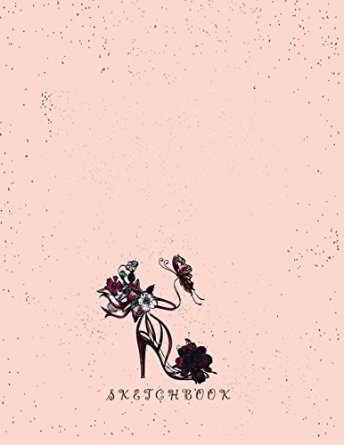 sketchbook (My shoe on pink sketchbook) (Volume 3) -