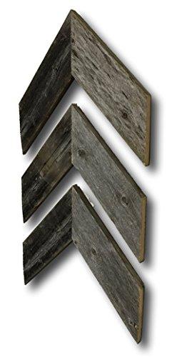 Review Barnwood Rustic Chevron Decorative