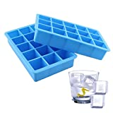 Docik 2-Pack Silicone Ice Cube Tray, 15 Perfect - Best Reviews Guide