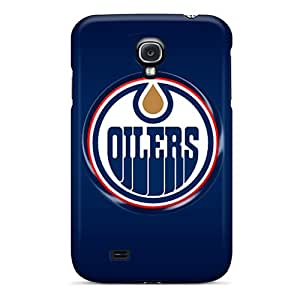 Premium DQUNo2376XFRIN Case With Scratch-resistant/ Edmonton Oilers Case Cover For Galaxy S4
