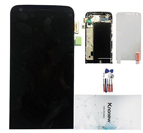 KNONEW Commonly LCD Display Touch Screen Digitizer Assembly Replacement + Frame For LG G5 H820 H830 H831 H840 H850 (Black)