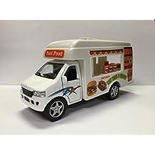 Pull-Back 5 inch Die Cast Food/Lunch Truck by KinsFun