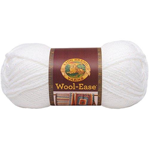 White Acrylic Yarn - 7