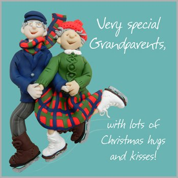 Special Grandparents Christmas Card: Amazon.co.uk: Kitchen & Home
