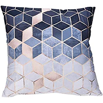 Sameno Pillow Cases Polyester Sofa Car Cushion Cover Home Sofa Office Kitchen Patio Chair Cushion Cover Indoor Furniture Decor (A)