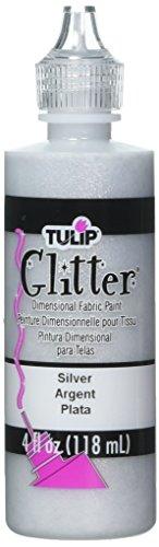 I Love To Create Tulip Glitter Dimensional Fabric Paint, 4-Ounce, -