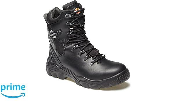 Dickies FD23375-6 - Botas de seguridad con forro Quebec, talla 6, color negro: Amazon.es: Industria, empresas y ciencia