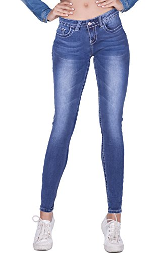 Super Low Bootcut Womens Jeans (naafii Women's Super Soft Comfy Stretch Perfectly Shaping Stretchy Denim Skinny Jeans)