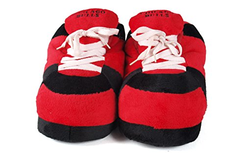 Feet Sneaker Feet Mens Womens Slippers NBA Bulls Comfy Chicago and and OFFICIALLY Happy LICENSED wgRvwqEnS