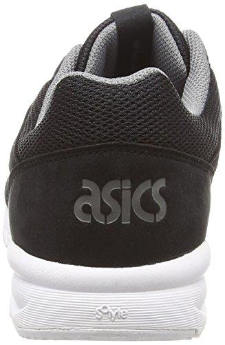 Asics Shaw Runner - Zapatillas de Running Unisex Adulto Negro (Black/Grey)