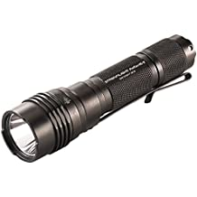 """Streamlight 88065 Pro Tac HL-X 1,000 Lumen Professional Tactical Flashlight with High/Low/Strobe""""Dual Fuel"""" use 2x CR123A or 1 x 18650 Rechargeable Li-ion Batteries and Holster - 1000 Lumens"""