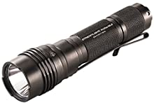 """Streamlight 88065 Pro Tac HL-X 1,000 Lumen Professional Tactical Flashlight with High/Low/Strobe""""Dual Fuel"""" Includes 2x CR123A Batteries and Holster - 1000 Lumens"""