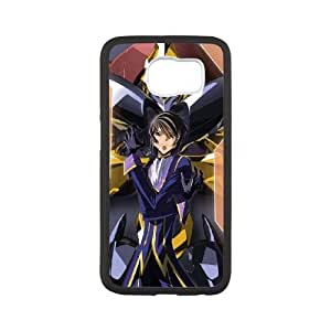 Samsung Galaxy S6 Cell Phone Case White Code Geass Plastic Phone Case Cover For Boys XPDSUNTR19915