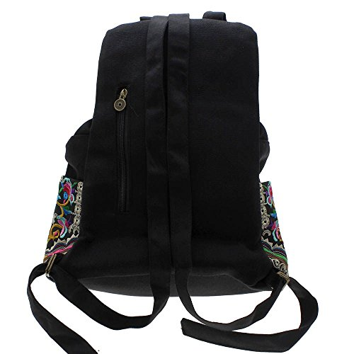 Ethnische handgemachteRucksackTribalBlumen-Stickerei-Tasche